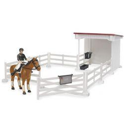 Bruder Ridgård med häst och ryttare 62521