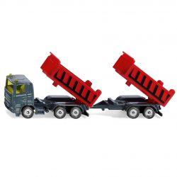 Siku Lastbil med två tippbara släp 1685 - 1:87