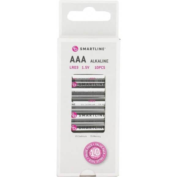 AAA 1,5 Volt Batterier. 10-pack.