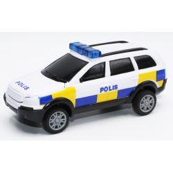 Polisbil Leksaksbil TEAMA 12 cm - 1:32