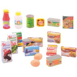 Home and Shopping Supermarket playset 18 pcs.