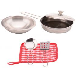 Home and Kitchen steel kitchenset 6 pieces