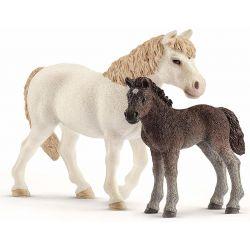 Schleich Ponny Sto och Föl 42423