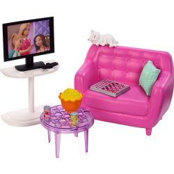 Barbie TV, Sofa & Accessories FXG36