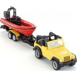 Siku Jeep Wrangler med båtsläp 1658 - 1:87