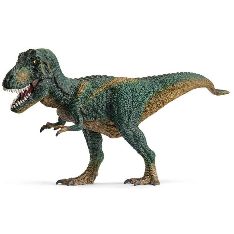 Schleich Tyrannosaurus Rex Dinosaurie Mörkgrön 14587 315 Cm