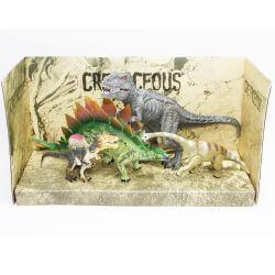 Dinosaurier 4 st. 13-23 cm