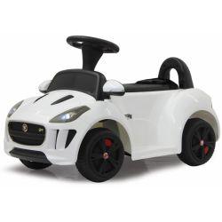 Elbil Kiddy Jaguar Vit Jamara - 6 volt