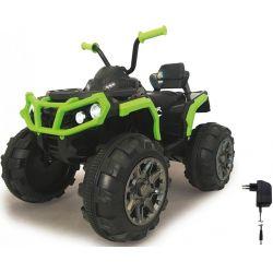 Elfyrhjuling Protector Grön 12 volt