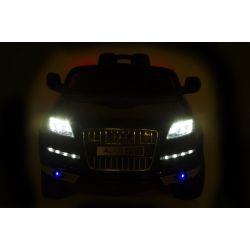 AUDI Q7 elbil barn 2x12V Svart