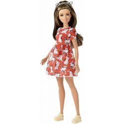 Barbie Fashionistas 97 Petite Kattklänning FJF57