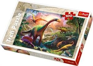 Läs mer om Dinosaurs land 100 bitar pussel