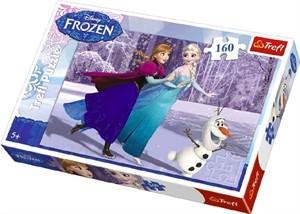 Läs mer om Frozen160 bitar pussel