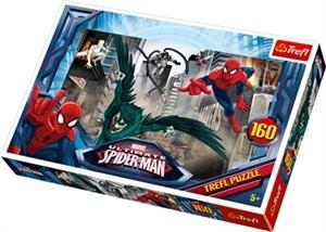 Läs mer om Spiderman Chasing villian 160 bitar pussel