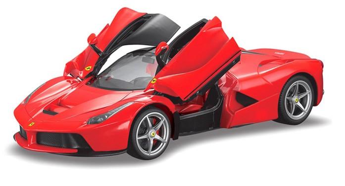 Läs mer om Ferrari LaFerrari Röd, radiostyrd, 1:14