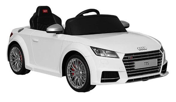 Elbil Audi TTS Roadster, Vit
