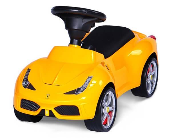 Läs mer om Ferrari 458 Sparkbi, gåbill, Gul