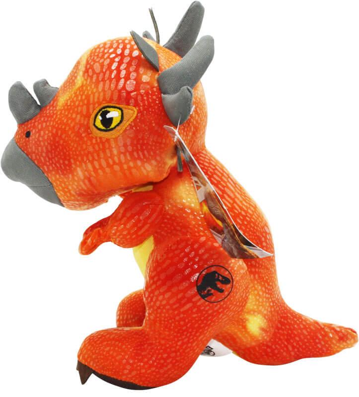 Jurassic World Gosedjur Triceratops Orange Dinosaurie - 21 cm