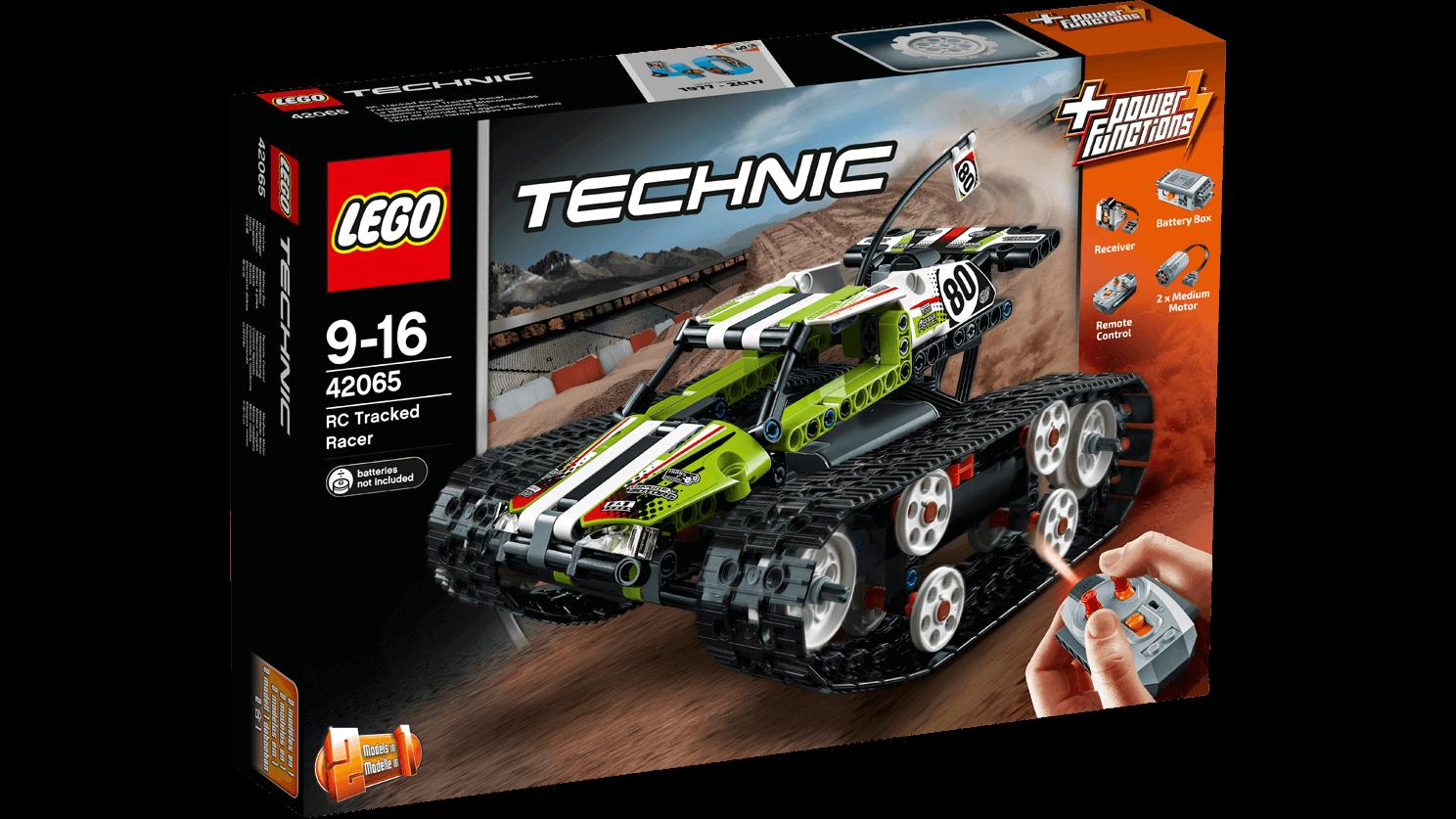 Läs mer om LEGO Technic 42065 RC Tracked Racer