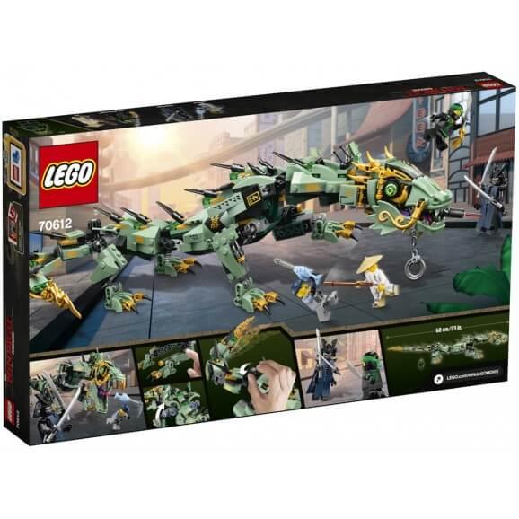 LEGO Gröna ninjans robotdrake V29 70612