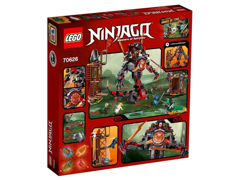 Läs mer om LEGO Ninjago 70626 Järnundergångens gryning