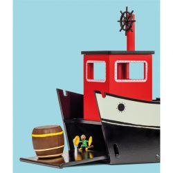 Pippi Långstrump Skeppet Hoppetossa - Micki