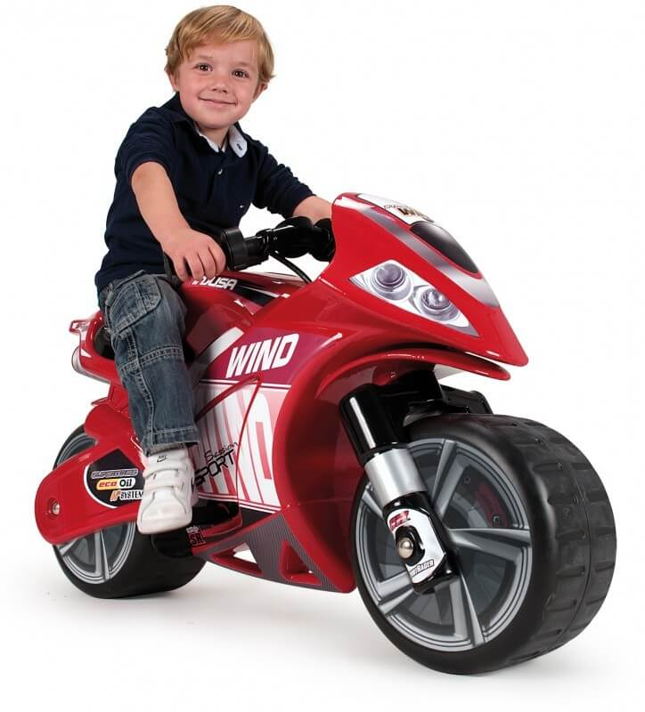 Läs mer om Injusa Motorcykel Wind 6V