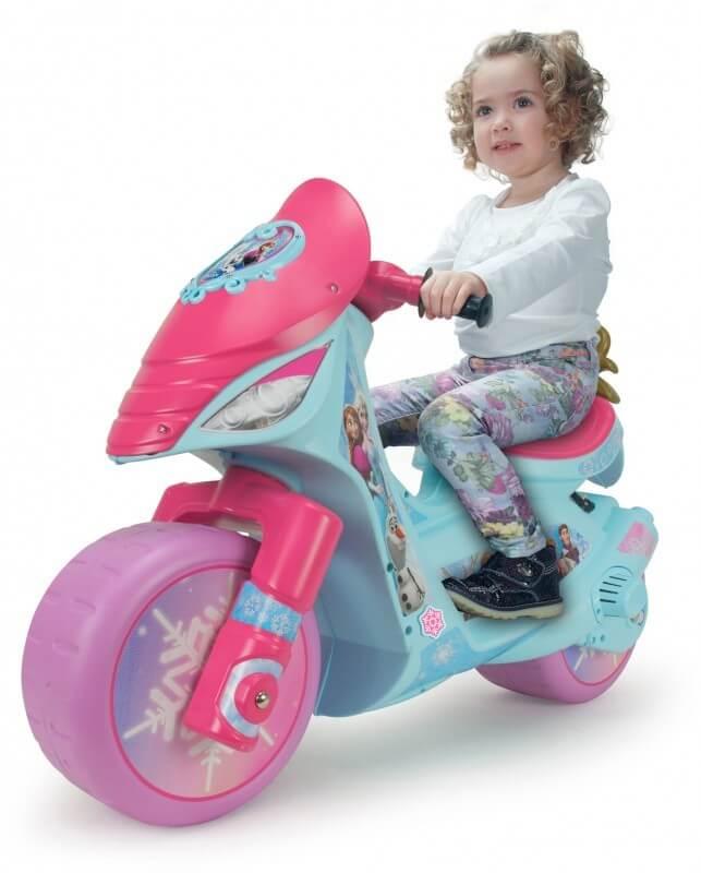 Läs mer om Motorcykel Scooter Disney Frost 6V