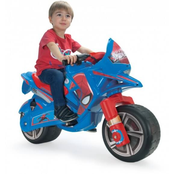 Elmotorcykel Claws Ultimate Spiderman 6V