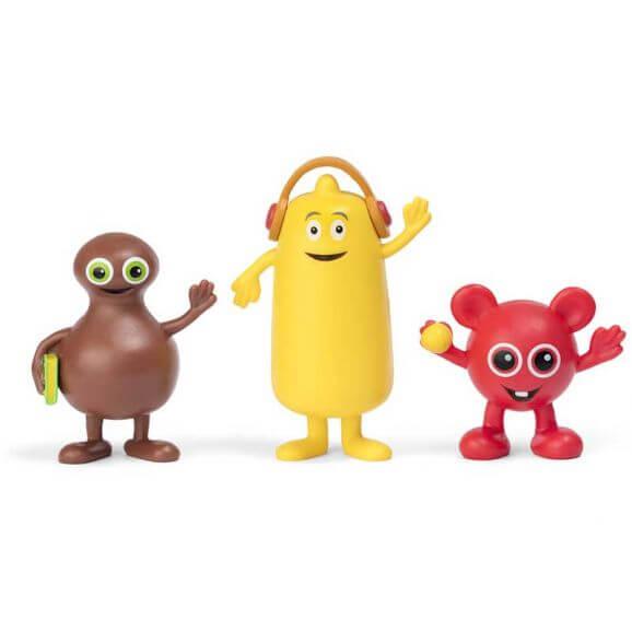 Babblarna Figurset Bobbo, Bibbi och Babba