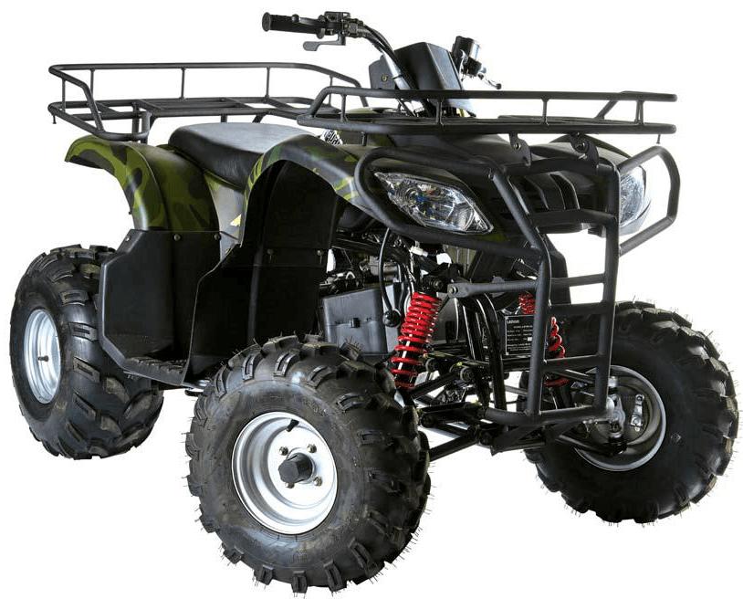 Läs mer om Fyrhjuling bensindriven Loncin Gepard 150cc