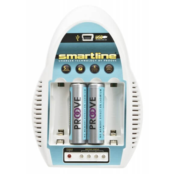 Batteriladdare AA
