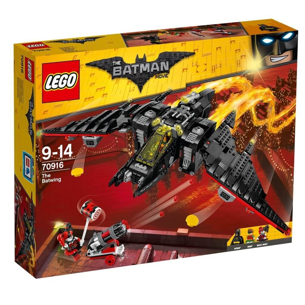 Läs mer om LEGO Batman Movie 70916 Batwing