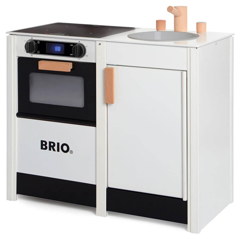 Läs mer om BRIO Leksakskök med spis och diskho