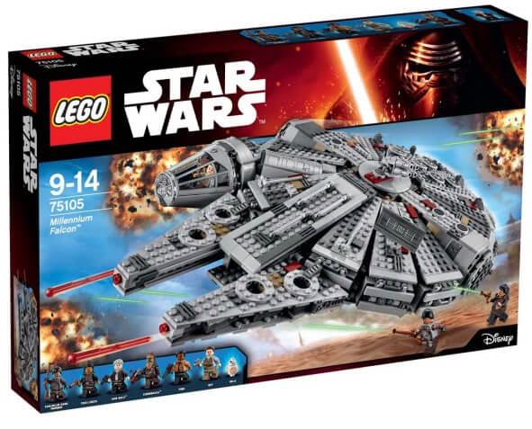 Läs mer om LEGO Star Wars 75105 Millennium Falcon