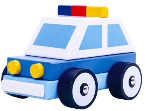Läs mer om Polisbil i trä
