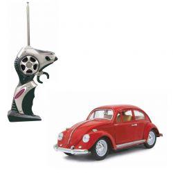 Jamara RC Bil VW Beatle Die Cast Röd 1:18 - 27 MHz