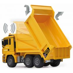 Radiostyrd Lastbil MAN med Tippflak 1:20 - 2,4 GHz