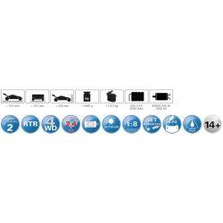 Radiostyrd Bil Ultra BL8 4WD Lipo Jamara 1:8 - 2,4 GHz - 70 km/h