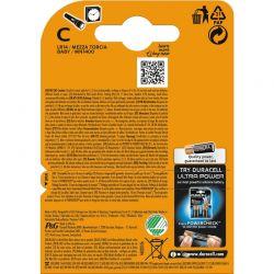 C/LR14 1,5 Volt Duracell Batterier Plus Power. 2 st.