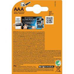 AAA, 1,5 Volt 1,5 volt Batterier Duracell Plus Power Alkaline. 8 st