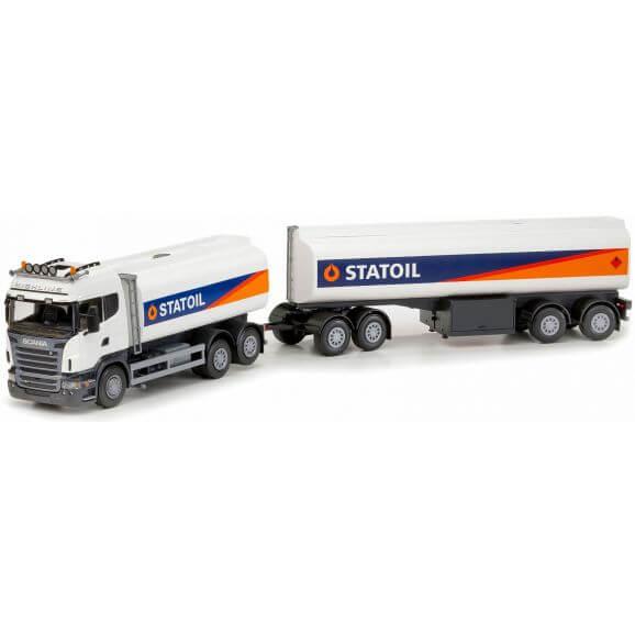 Scania tankbil Highland Statoil. 1:25. EMEK