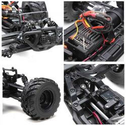 Radiostyrd Bil HBX Survivor Monstertruck MT RTR 1:12 - 30 km/h