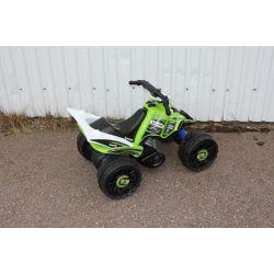 Elfyrhjuling ATV Kawasaki till barn 12 volt Injusa
