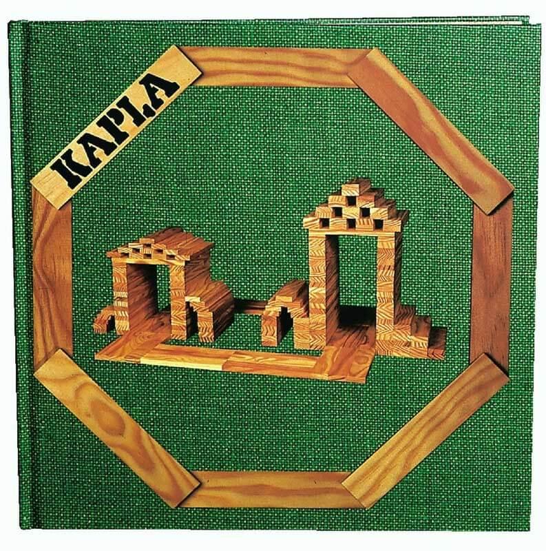 Kapla bok grön - Lätta konstruktioner