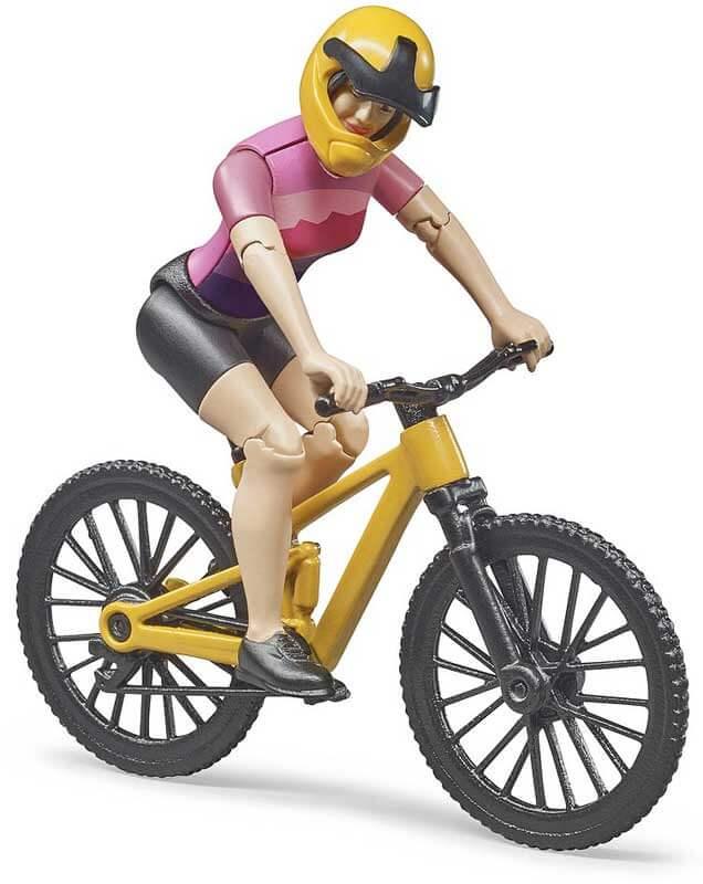 Bruder Mountainbike med cyklist 63111