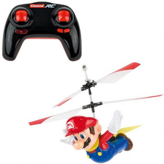 Carrera RC Super Mario - Flying Cape Mario RC Helikopter dubbelrotor