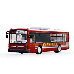Radiostyrd Buss röd Turistbuss 2,4 Ghz