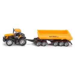 Traktor JCB med Dolly släp. Siku.