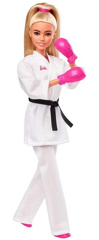 Barbie Olympics Karate Docka